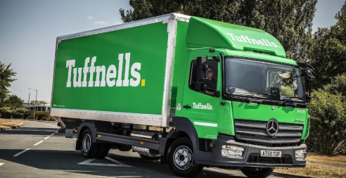 Tuffnells new livery Atego 7.5t